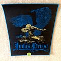 Judas Priest - Sad Wings Of Destiny - Blue Border - Woven Backpatch
