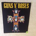 Guns N' Roses - Cross - Backpatch
