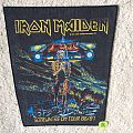 Iron Maiden - Patch - Iron Maiden - Somewhere On Tour - 1986 Iron Maiden Holdings Ltd. - Back Patch