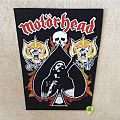Motörhead - Lemmy, 2 x Snaggletooth, Skull and Ace - Vintage Backpatch