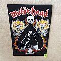 Motörhead - Lemmy, 2 x Snaggletooth, Skull and Ace - Vintage Backpatch