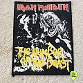 Iron Maiden - The Number Of The Beast - Small Vintage Back Patch