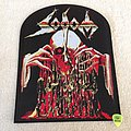 Sodom - Obsessed By Cruelty - Woven Backpatch - Black Border