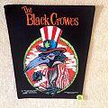 The Black Crowes - Smoking Crow - 1993 The Black Crowes - Razamataz - Backpatch