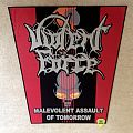 Violent Force - Malevolent Assault Of Tomorrow - Backpatch