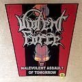 Violent Force - Malevolent Assault Of Tomorrow - Backpatch