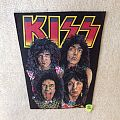 Kiss - Lick It Up Band - Vintage Backpatch