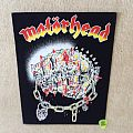 Motörhead - Iron Fist - Black Border - Backpatch