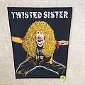 Twisted Sister - Dee Snider 3 - Vintage Backpatch