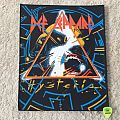 Def Leppard - Hysteria - Vintage Back Patch - Red Logo
