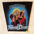 Twisted Sister - I Wanna Rock - Vintage Backpatch