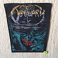 Obituary - The End Complete - Blue Version - 1992 Blue Grape - Razamataz - Back Patch