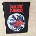 Nuclear Assault - Handle With Care - 1991 Nuclear Assault - Backpatch