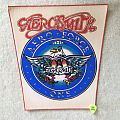 Aerosmith - Aero Force One - Vintage Backpatch