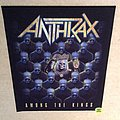 Anthrax - Among The Kings - Backpatch For VIP Members