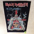 Iron Maiden - Aces High - 1984 Iron Maiden Holdings Ltd. - Backpatch - Version 2