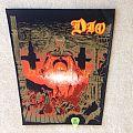 Dio - Last In Line - Brown Version - Vintage Backpatch