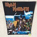 Iron Maiden - Stranger In A Strange Land - Vintage Back Patch