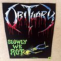 Obituary - Slowly We Rot - Backpatch