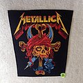 Metallica - Pirate Skull And Crossbones - Vintage Backpatch