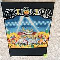 Helloween - Live In The UK - Vintage Back Patch