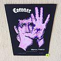 Coroner - Mental Vortex  - 1991 Drakkar Promotion - Razamatz - Back Patch