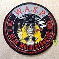 W.A.S.P.- I'm A Mean Motherf**kin Man - 1989 4 Animal Inc. - Backpatch round