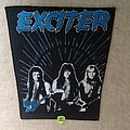 Exciter - Band - Blue Version - Vintage Backpatch