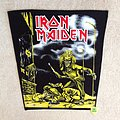 Iron Maiden - Sanctuary - Backpatch - Black Border