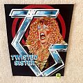 Twisted Sister - Dee Snider + TS Logo - Vintage Backpatch
