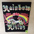 Rainbow - Rising - Black Border - Boot Backpatch
