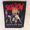 Skid Row - Slave To The Grind - 1991 Skid Row - Razamataz - Backpatch