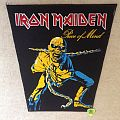 Iron Maiden - Piece Of Mind - Vintage Backpatch