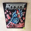 Accept - Balls To The Wall - Vintage Backpatch - Grey Logo Version