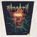Morgoth - The Eternal Fall - 1990 Blue Grape Merchandising - Razamataz - Back Patch
