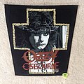 Ozzy Osbourne - Miracle Man - 1989 Monowise Ltd. - Backpatch