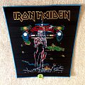 Iron Maiden - Somewhere On Tour - Blue Border - Backpatch (woven)