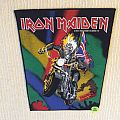 Iron Maiden - Maiden England - 1989 Iron Maiden Holdings - Back Patch