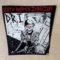 D.R.I. - Dirty Rotten - Violent Pacification - Backpatch