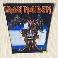 Iron Maiden - The Evil That Men Do - Vinage Back Patch