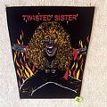 Twisted Sister - Dee Snider 5 - Vintage Backpatch