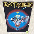 Iron Maiden - Can I Play With Madness - Vinage Back Patch