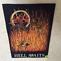 Slayer - Hell Awaits - Vintage Backpatch
