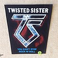 Twisted Sister - You can't Stop Rock n Roll - Vintage Backpatch