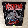 Kreator - Extreme Aggression - 1990 Drakkar Promotion - Razamataz - Back Patch