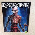 Iron Maiden  - The Book Of Souls - Backpatch