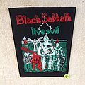 Black Sabbath - Liveevil - Vintage Backpatch