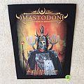 Mastodon - Patch - Mastodon - Emperor Of Sand - 2017 Mastodon - Backpatch