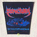 Sepultura - Schizophrenia - 1991 Blue Grape Merchandising - Razamataz - Back Patch