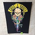 Guns 'N' Roses - Skull And Sword - 1991 Guns 'N' Roses - Brockum - Back Patch